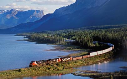 From David Cable's Rail Across Canada. Courtesy of David Cable and Pen & Sword Books
